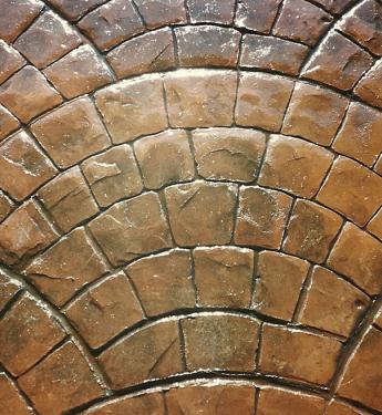 Штамп для бетона Европейский Веер