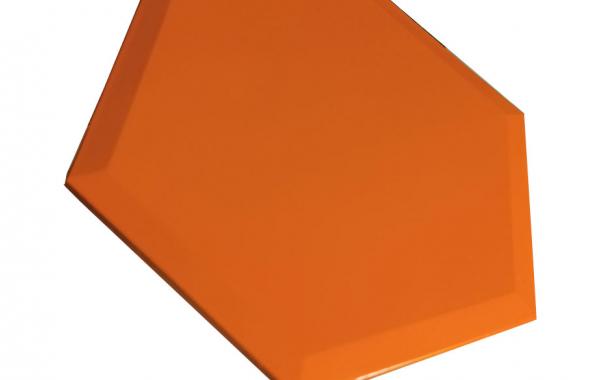 Молд силиконовый шестиугольник 3-D 3 шт.